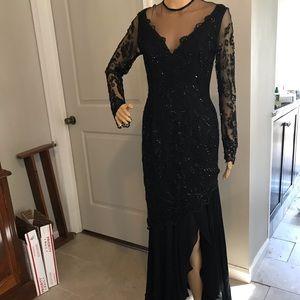 Rose Tart formal long dress